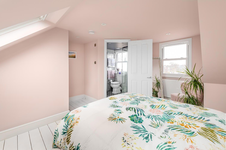 Pink Loft Conversion