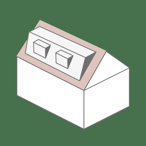 Mansard loft